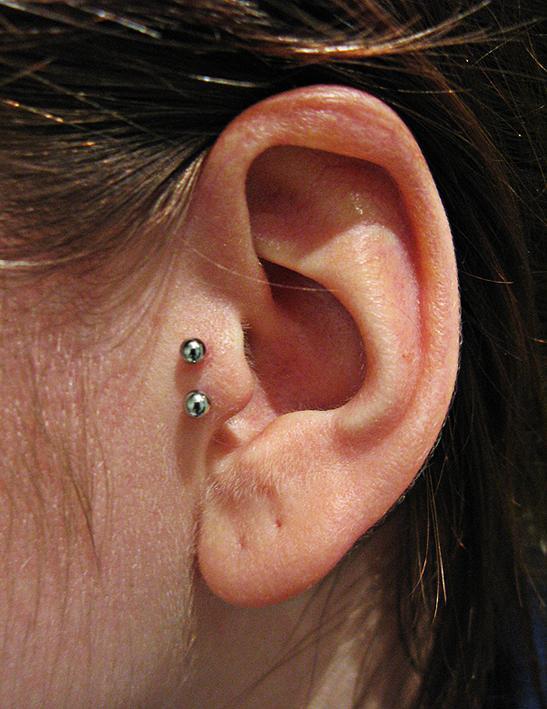 Anti Tragus Ear Piercings Anti Tragus Piercing