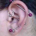 pretty-industrial-piercing-and-multi-lobe-tragus-piercing