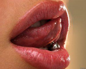 tongue-piercing