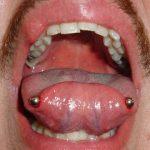 Horizontal-tongue-piercing